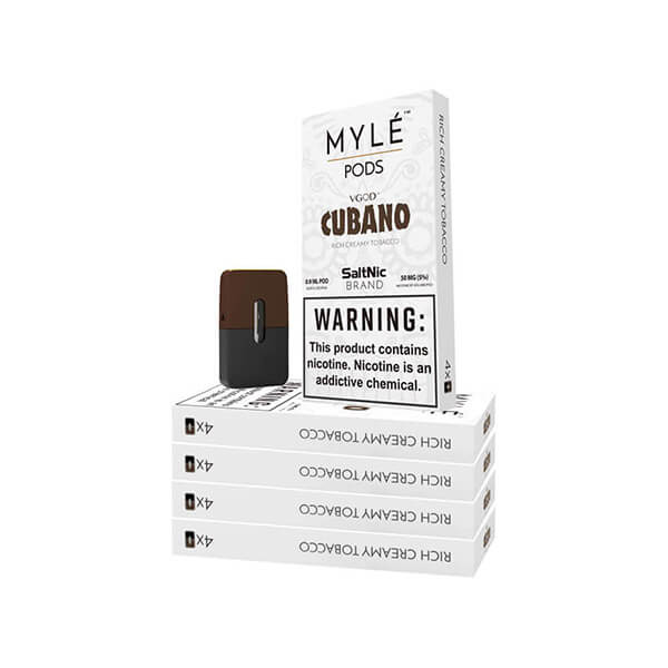 Cubano Vape Pods 5 Pack by MYLÉ