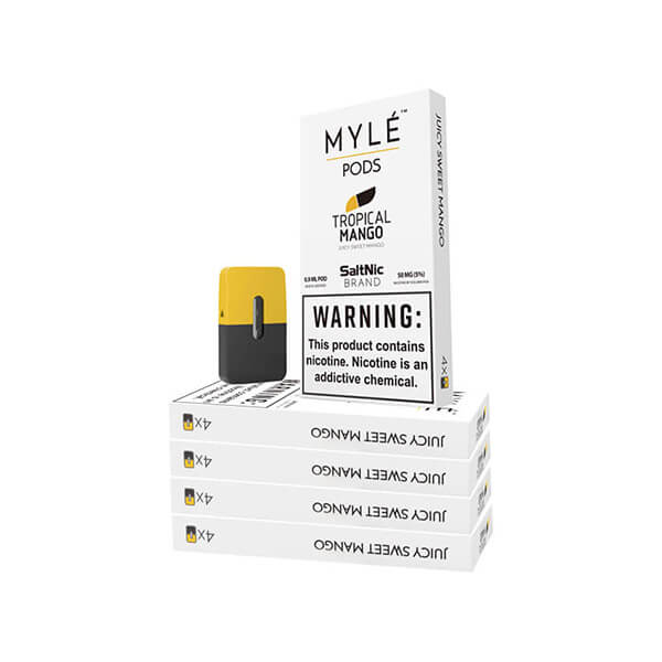 Tropical Mango Vape Pods 5 Pack by MYLÉ