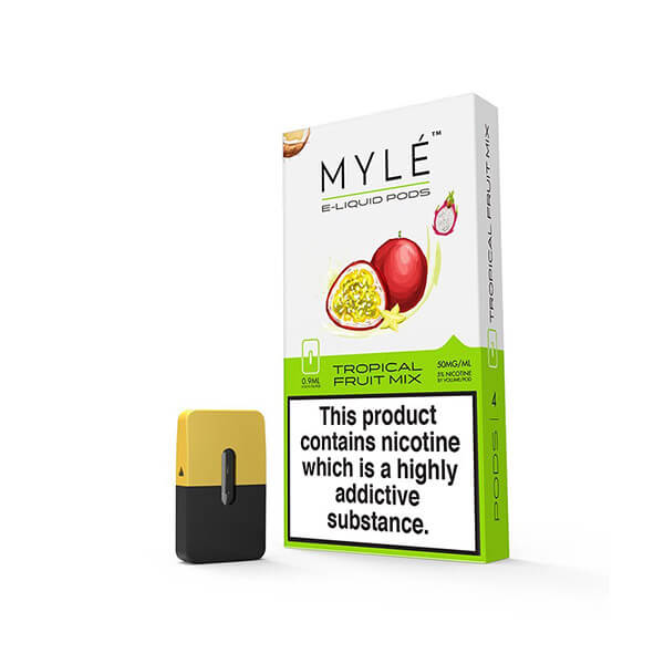 Tropical Fruit Mix 5% - Myle pods frutales
