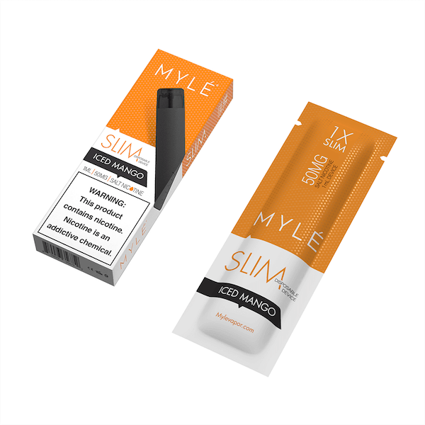 MYLÉ Slim Iced Mango Disposable Device