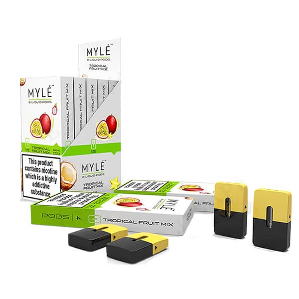Tropical Fruit Mix Vape 5% Pods 5 Pack by MYLÉ