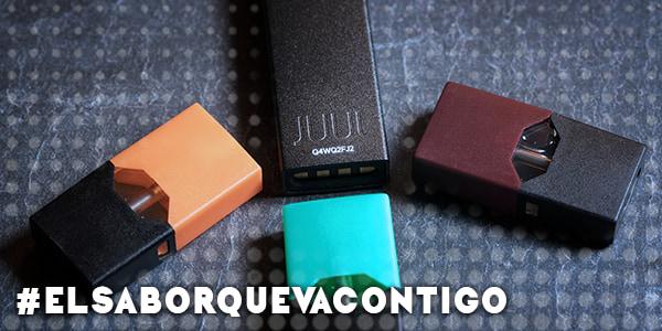 ¡Vapea con los Juul Pods, los dispositivos más pequeños!